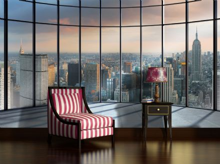 Wall mural wallpaper New York Penthouse